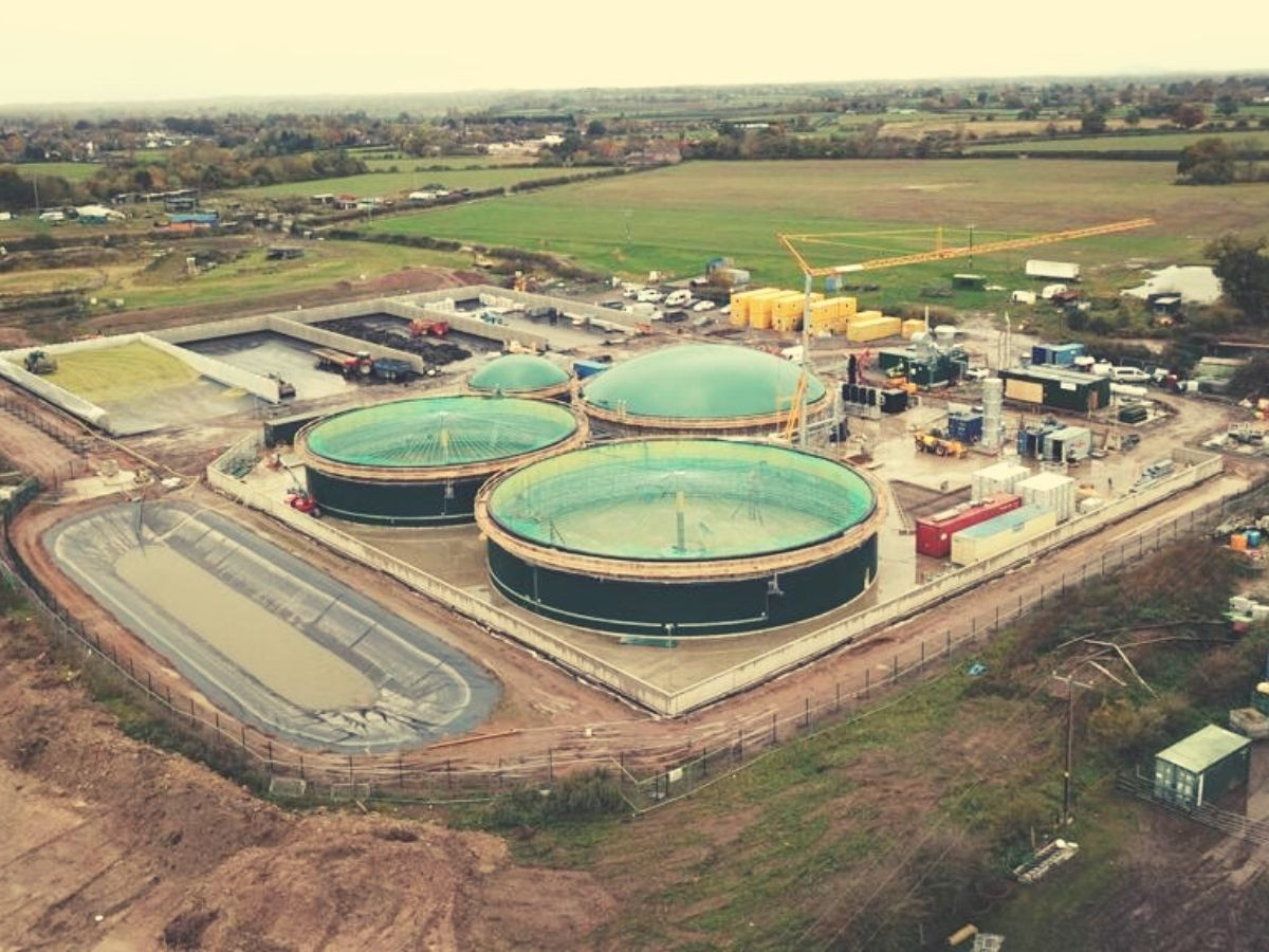 New Gas to Grid Plant