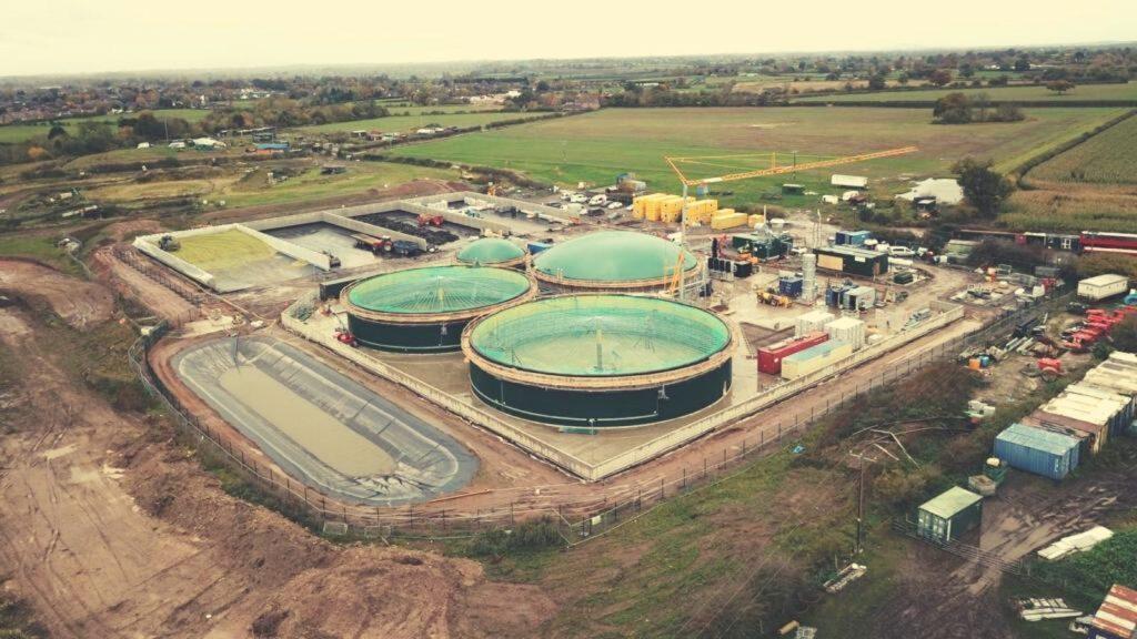 Lower Drayton biogas plant